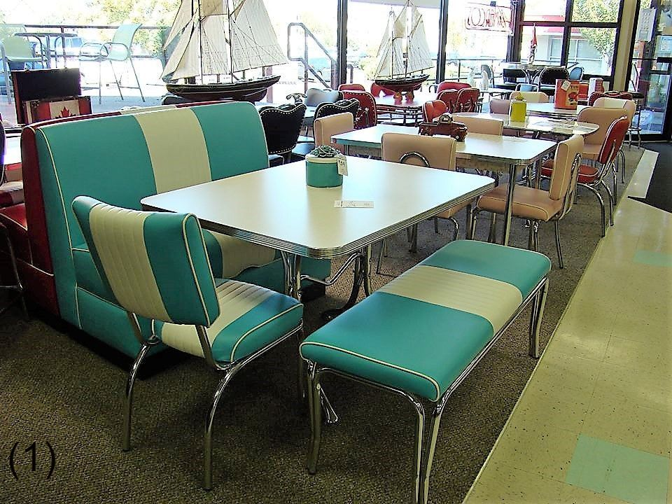Miraculous Cool Retro Dinettes 1950S Style Canadian Made Chrome Sets Home Interior And Landscaping Mentranervesignezvosmurscom