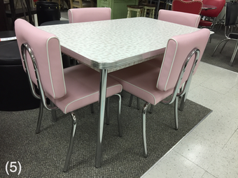 Awe Inspiring Cool Retro Dinettes 1950S Style Canadian Made Chrome Sets Home Interior And Landscaping Mentranervesignezvosmurscom