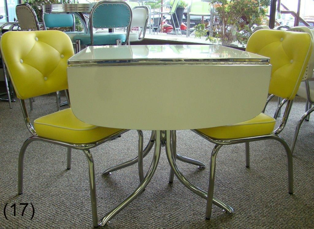 Cool Retro Dinettes 1950 S Style Canadian Made Chrome Sets